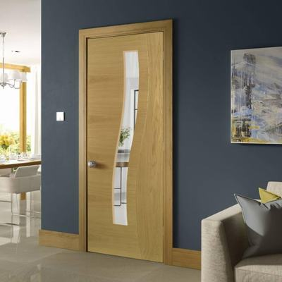Flush Doors Designs main door design wood simple door design simple teak veneer wood flush door designs Cadiz Prefinished Oak Modern Designer Door Glazed Deanta Directdoors Veneer Wardrobe Door Designs