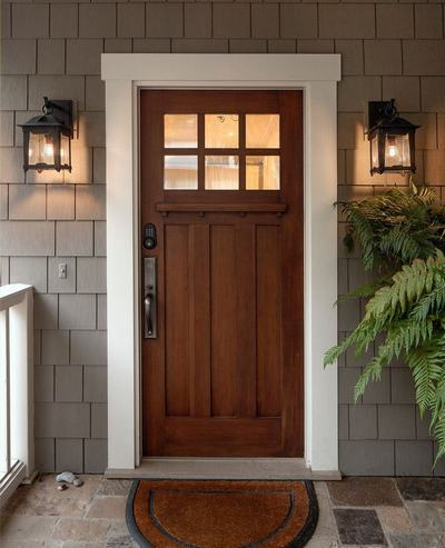 Exterior Front Doors Exterior Steel Doors Wooden Entry Door Withglass Door  Panel White Door Frame Metal