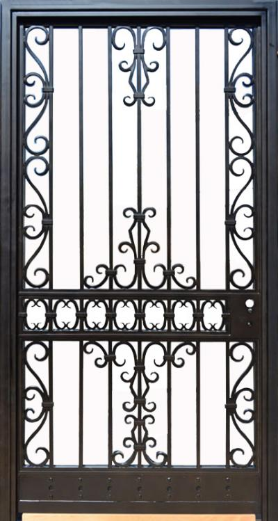 73 Metal Iron Wooden Safety Door Designs With Grill For Flats Homes