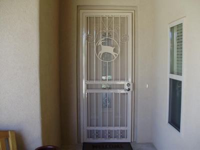 Iron Safety Door Designs For Home