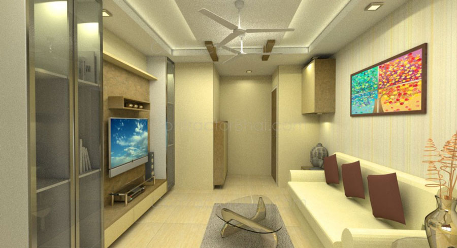 51+ Simple Interior Design Ideas for 2BHK Flat (Images & Plans)