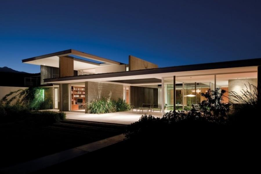 Amazing Flat Roof House Contemporary.html