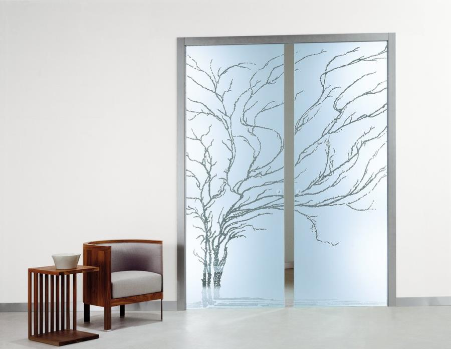 Frameless Ceiling Mounted Pocket Sliding Glass Door bedroom door glass design.html
