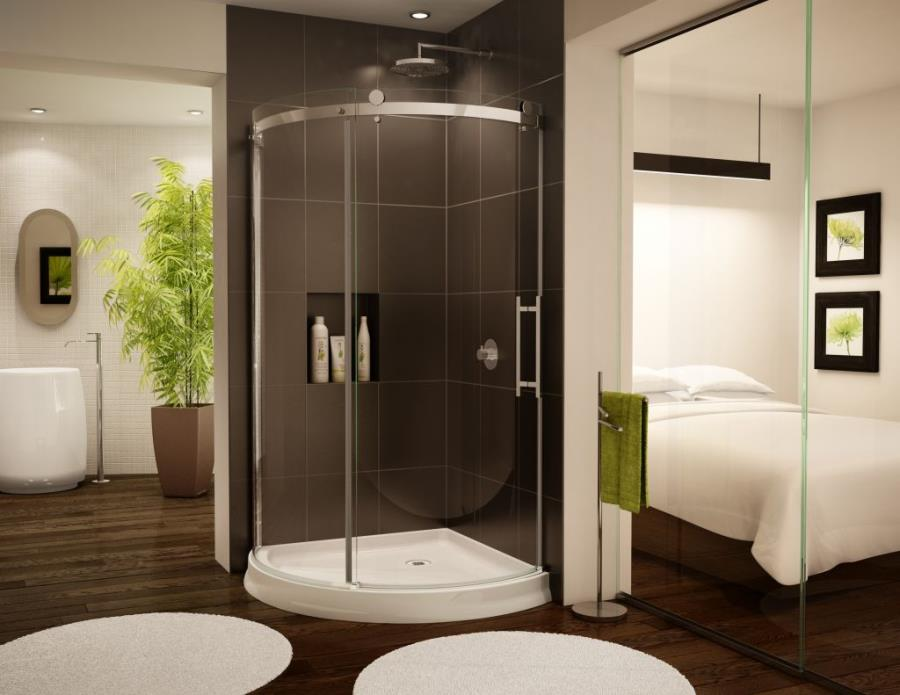 Frameless Sliding Curved Glass Shower Of Corner Shower Units bedroom door glass design.html