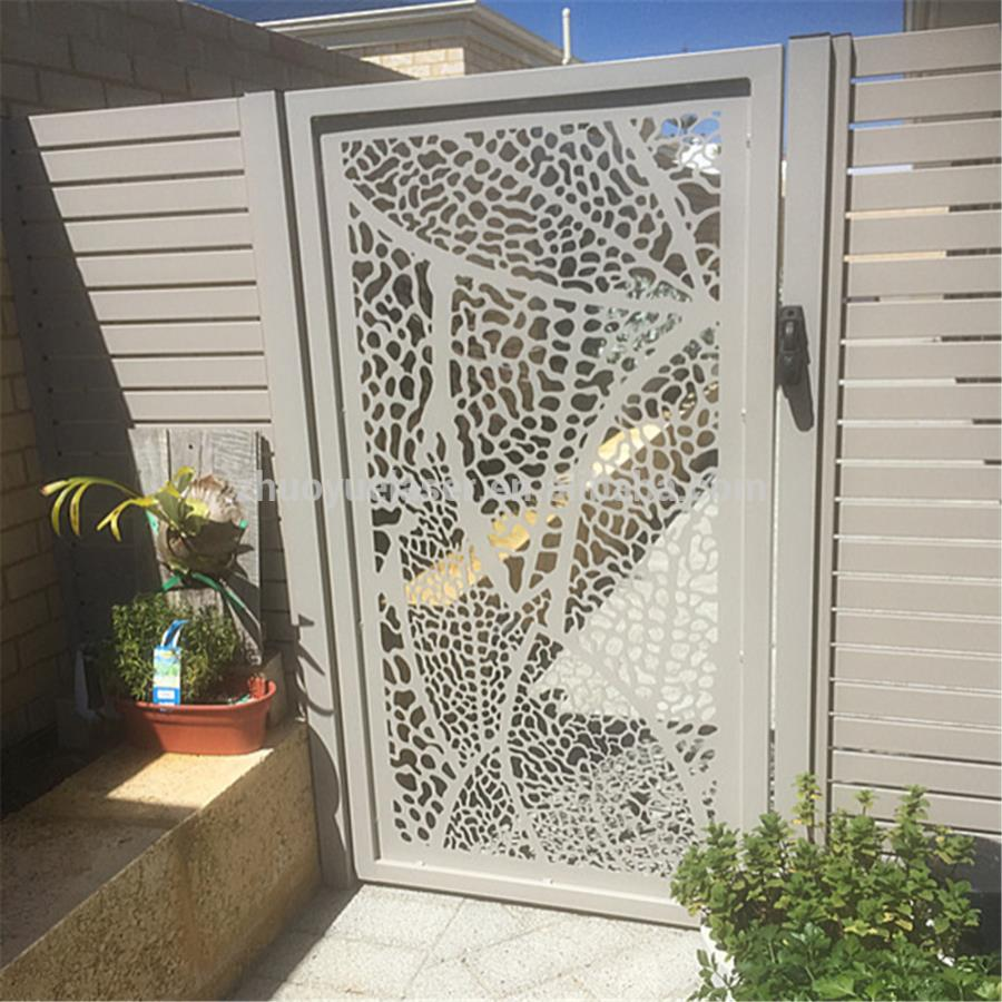 Laser Cutting Sheet Gate steel door grill design.html