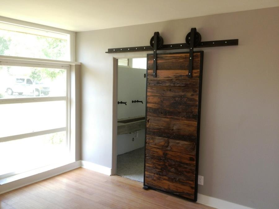Reclaimed Barn Door for Bathroom bathroom door designs philippines.html