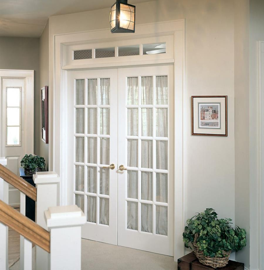 White interior french doors with glass latest bedroom door design.html