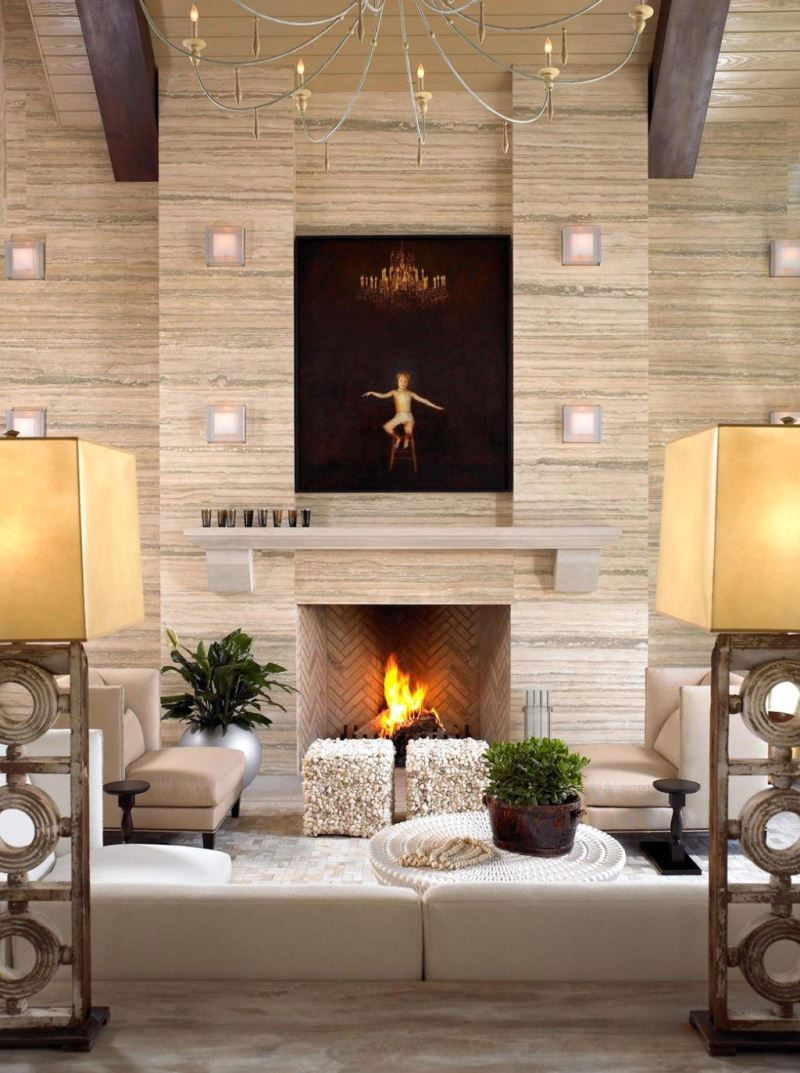 amusing design of the fireplace design ideas with white fabric sofa added with white wall ideas living room design with fireplace.html