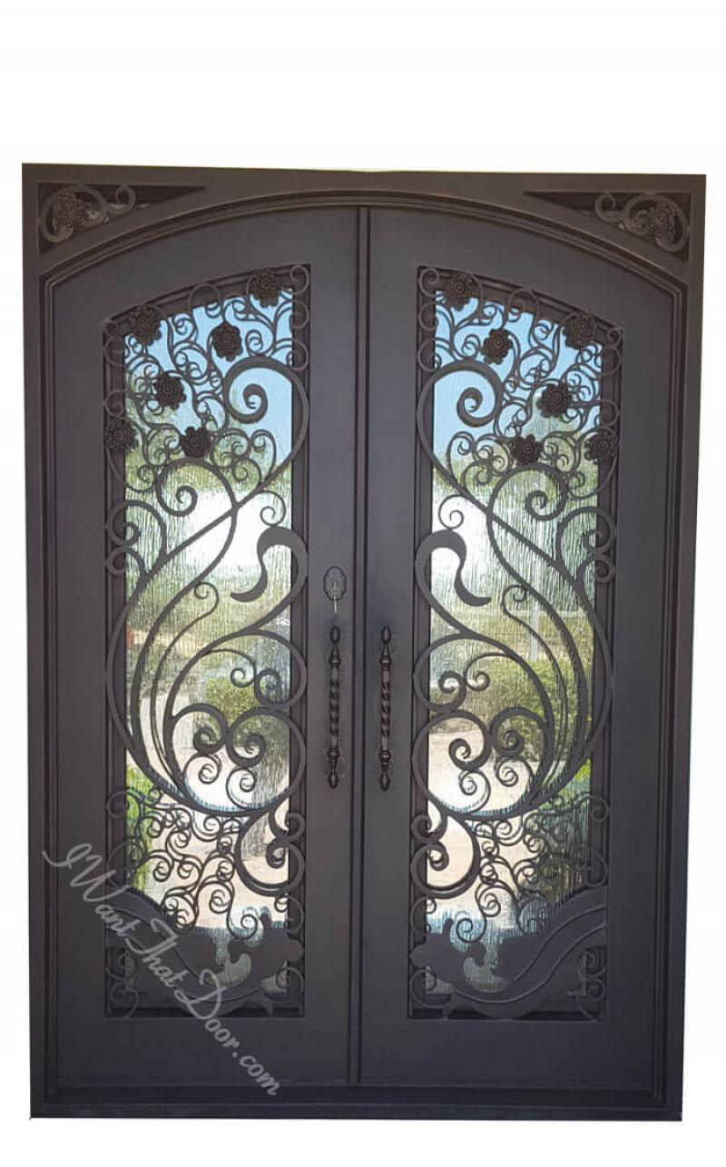 apollo square top with eyebrow doors front door gate designs wrought iron single gate designs iron door.html