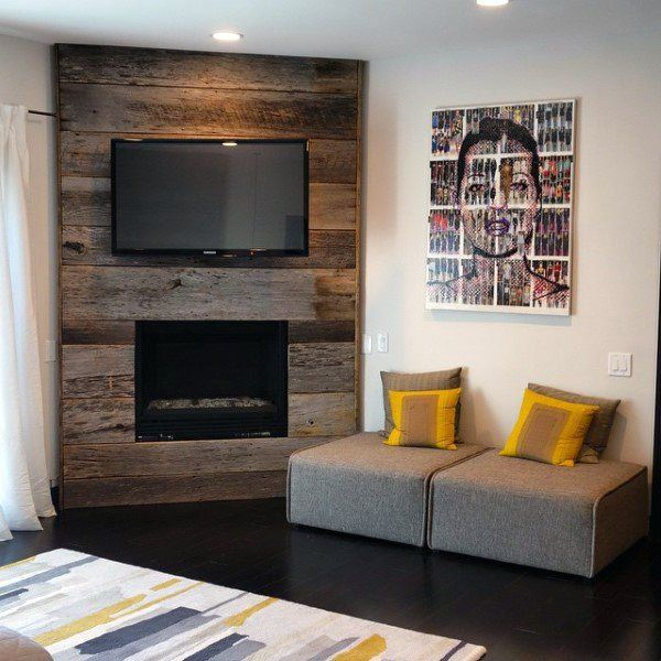 awesome wood panel wall corner fireplace design fireplace wall design.html