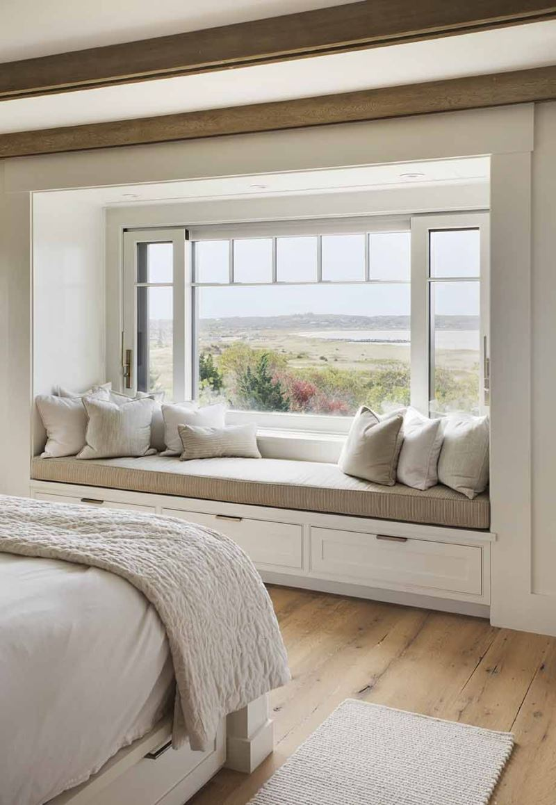 22+ Modern Bedroom Window Design Ideas Including French for Homes