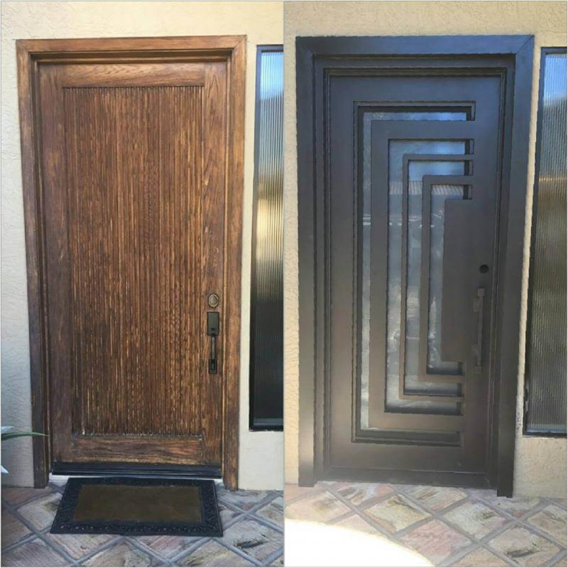 beforeafter rod iron doors design iron room door design iron door.html