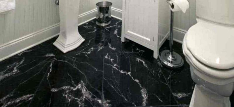 Black Marble Floor Home Design And Decor Adorable Designs Color