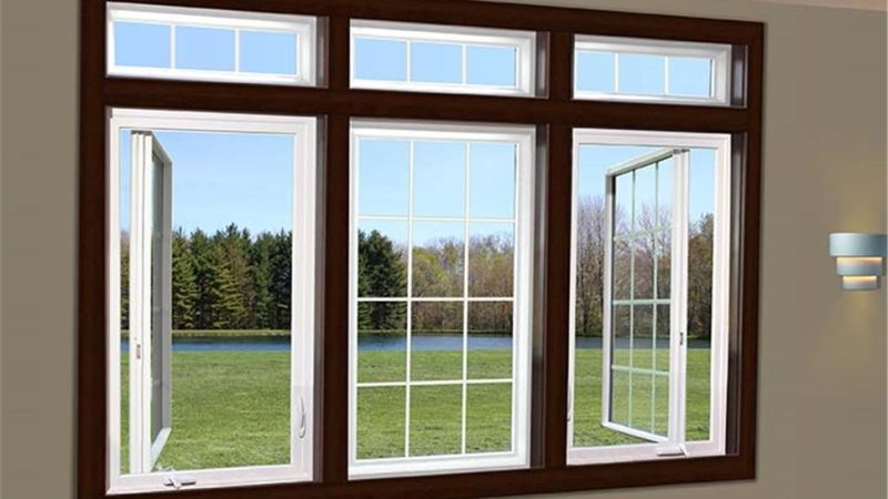 11 modern casement upvc steel windows design and plans for Casement window design plans