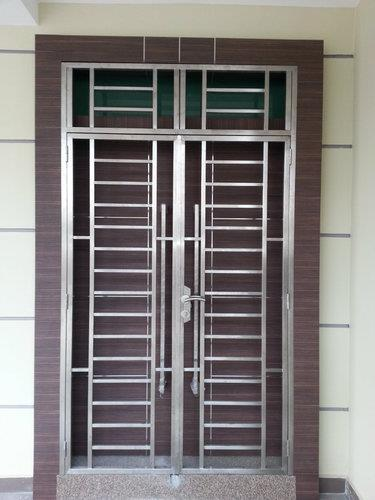 chaukath section windows steel door design with price.html