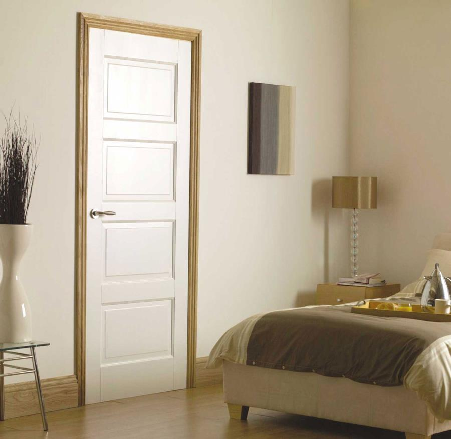 91+ Modern Bedroom Door Designs In Wood With Glass For