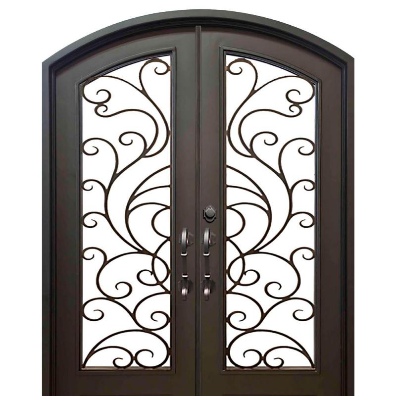 dark bronze allure iron doors windows doors with glass iseriadb front door security gate designs double iron gate designs iron door.html