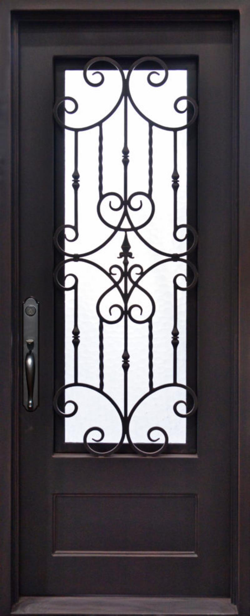 71+ Latest Iron Front/Main Single Safety Door Design for ...