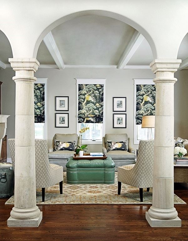 67 Round Square Pillar Designs For Modern Homes In Kerala India