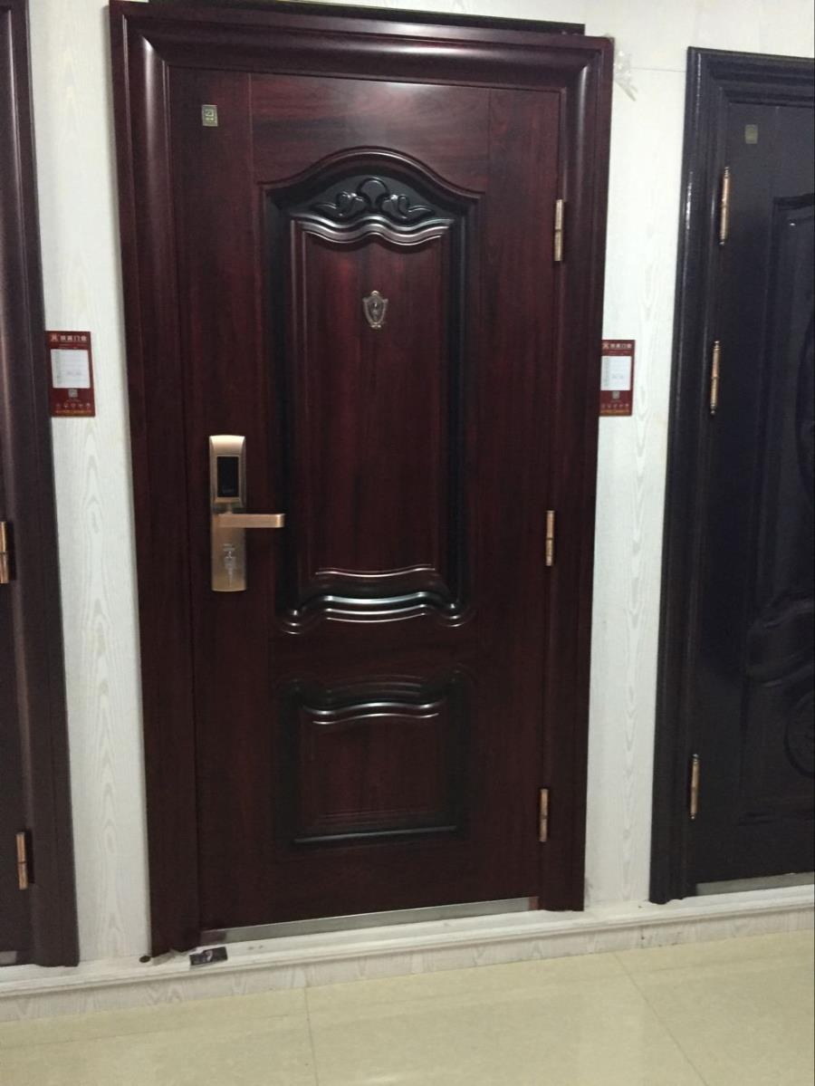 73+ Metal (Iron) & Wooden Safety Door Designs with Grill ...