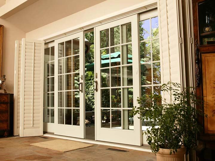 51+ Front/Main French Door Designs for Balcony & Living Room