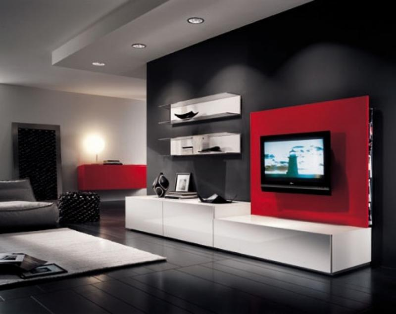 49 Lcdtv Unit Cabinet Wall Design Ideas For Living Room Catalogue