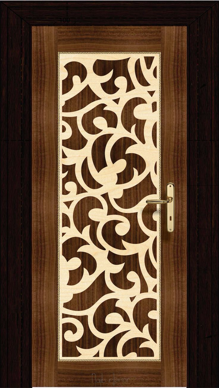 Image Result For Contemporary Bedroom Door Designs: 35+ MDF Jali Board & Sheet Design With Cutting Grills For