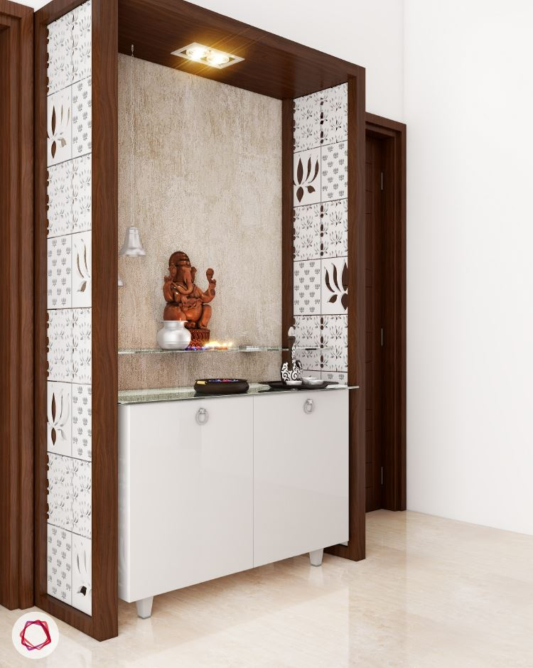 Design For Cabinet For Room: 67+ Simple Pooja Room/Temple Designs & Styles For Small Home