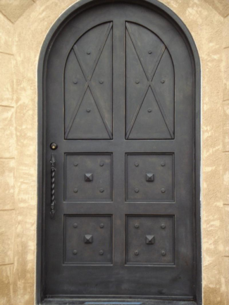 mediterranean entry wrought iron single gate designs iran door design iron door.html