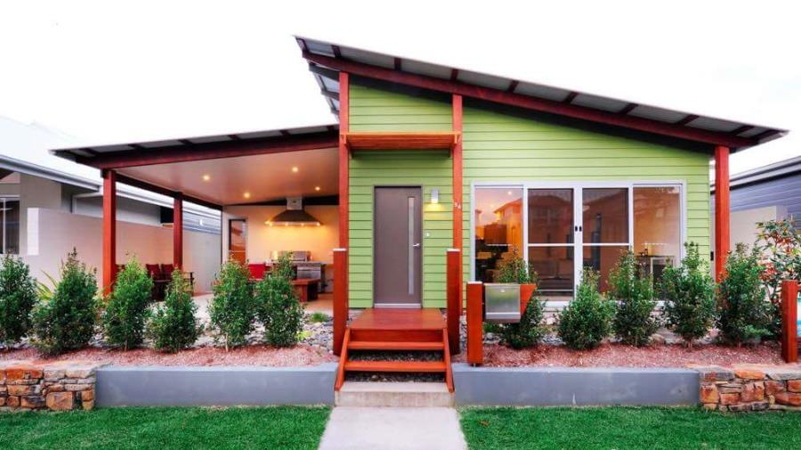 51+ Modern Flat Roof Home Design Ideas With Shed & Extension (Pictures)