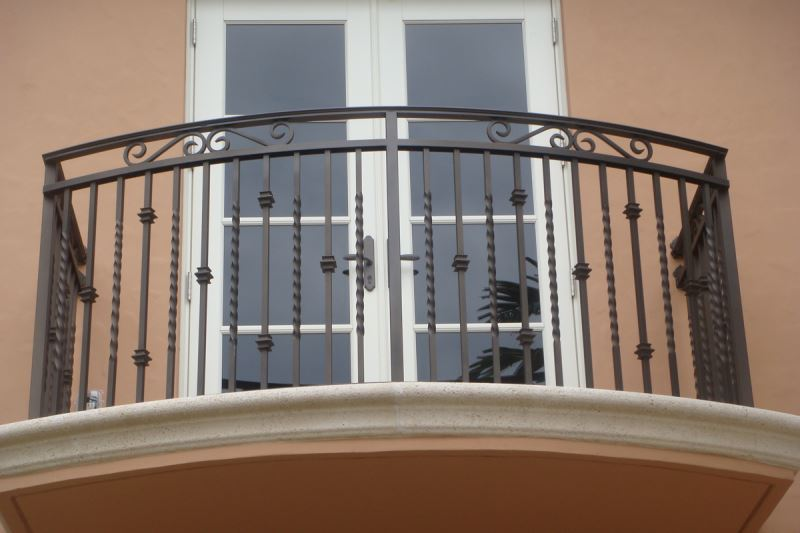 49 Modern Balcony Grill Railing Designs Of Steel Iron For Safety