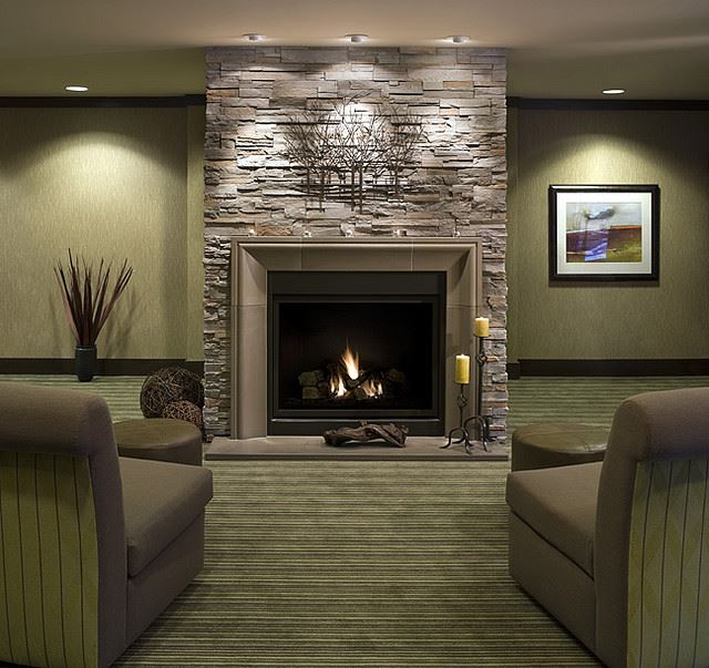 modern fireplace concrete and stone livingroom most popular fireplace designs.html