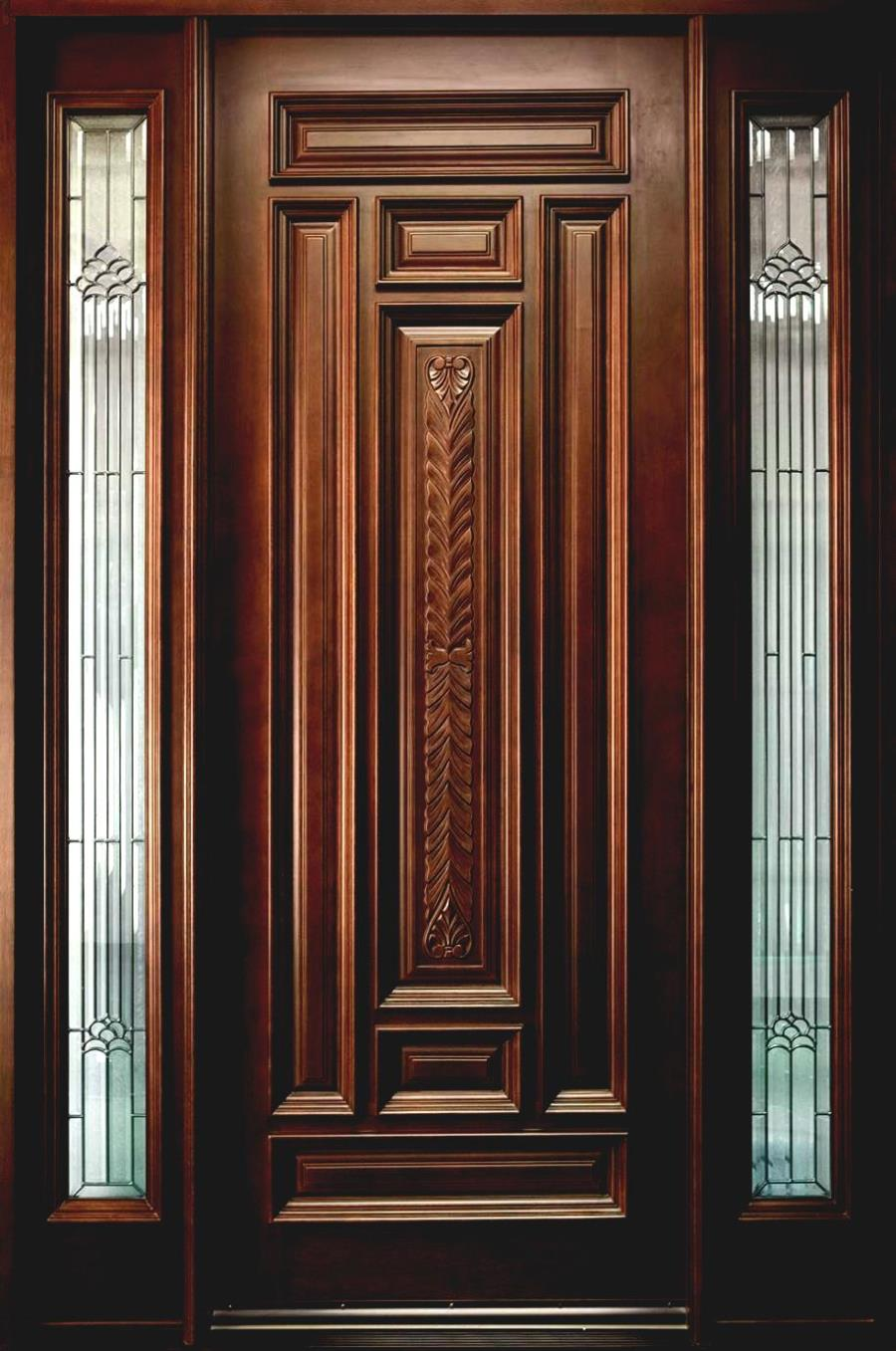 Modern wooden door designs for houses latest modern wood for Modern wooden door designs for indian homes