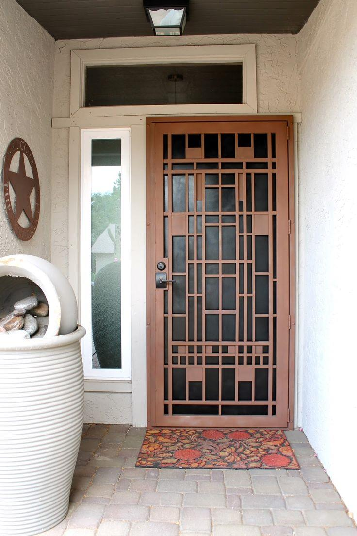 modern steel doors designs facade house security door.html