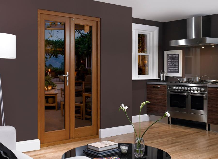 91 Open Wood Kitchen Entrance Door Designs Ideas With Glass