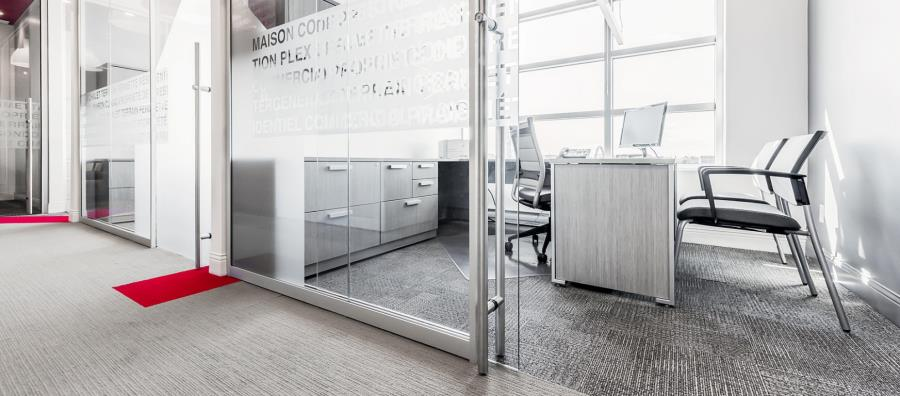 moodwall P2 office front sliding glass doors modern office door design.html