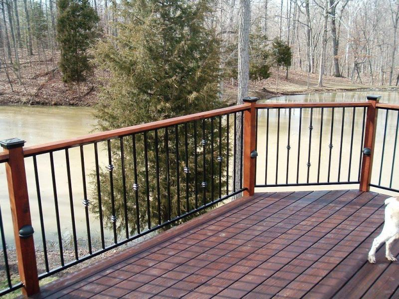 57+ Creative Deck Railing & Fencing Design Ideas for Roof ...