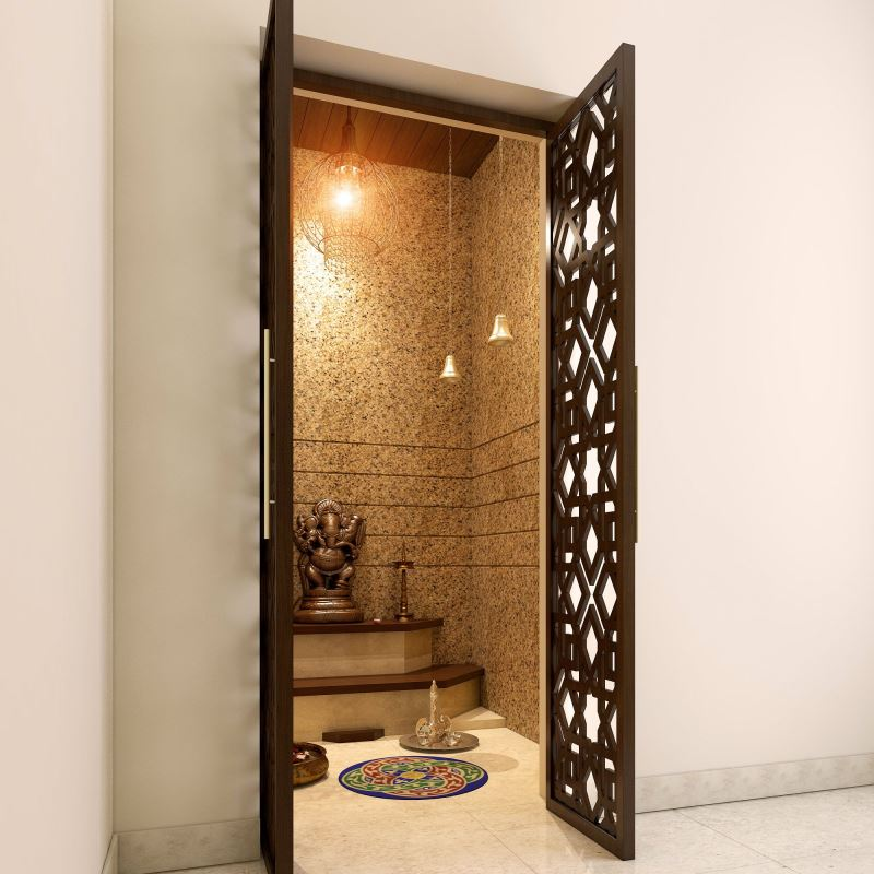 67 Simple Pooja Room Temple Designs Amp Styles For Small Home
