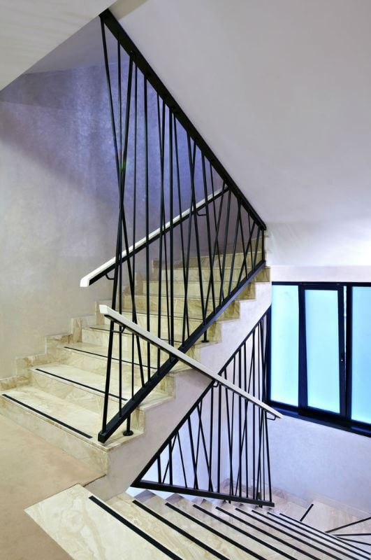 45+ Latest Stairs Railing Designs in Wood, Steel & Iron ...
