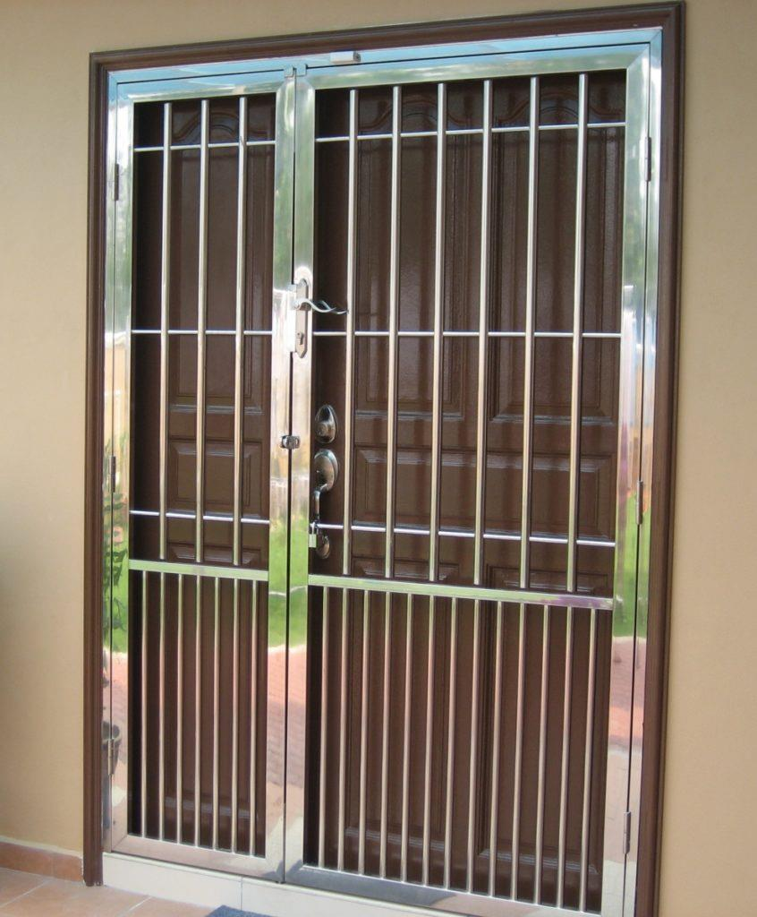 71 Latest Iron Frontmain Single Safety Door Design For House