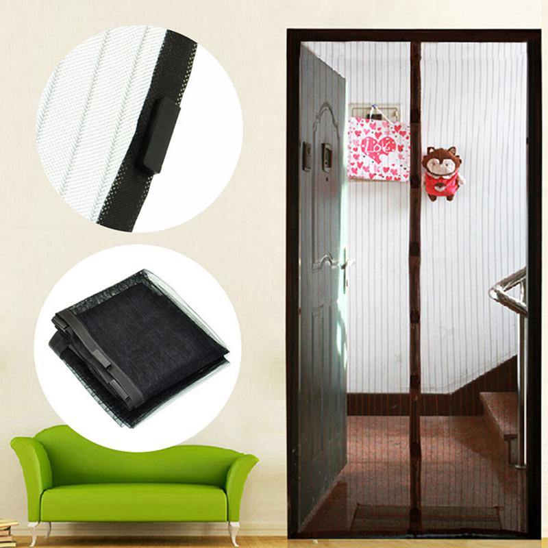 summer mosquitoes protection magnetic anti mosquito net for door mesh magnetic insect door net magnetic screen mesh door design net door.html