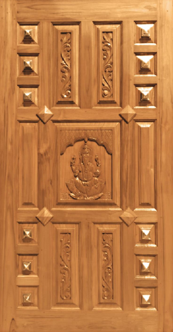91 Teak Wood Main Door Carving Designs For Houses In
