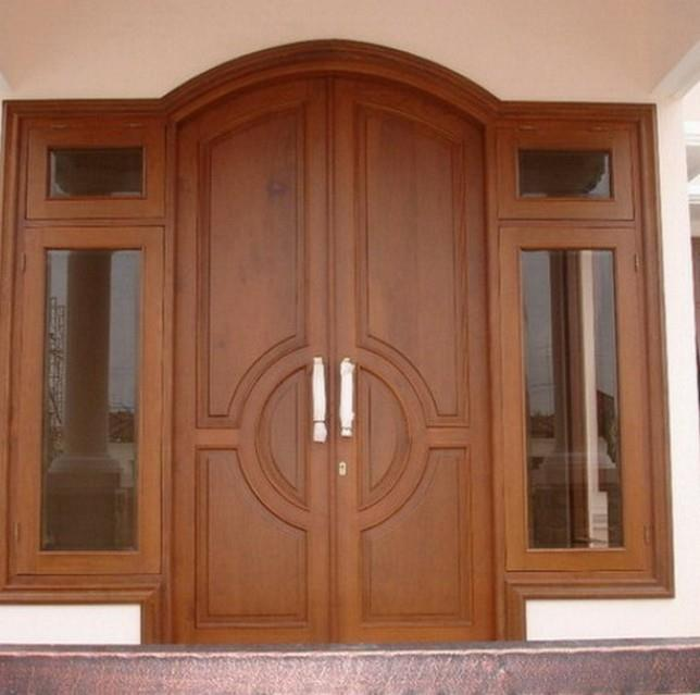 Teak Wood Single Door Design Catalogue Main Double Door Designs For Home  Simple Teak Wood Double