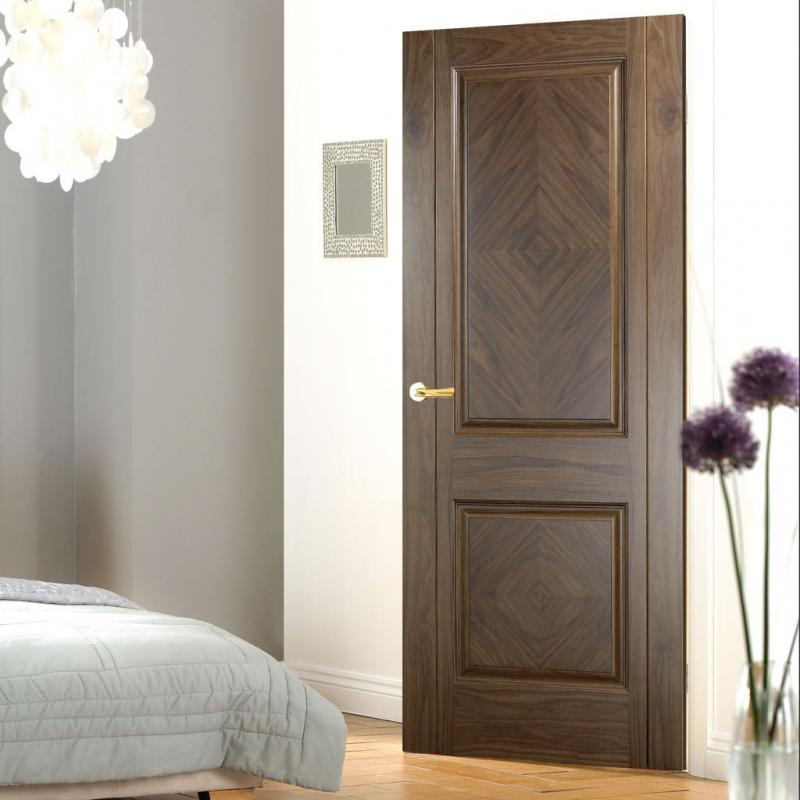 walnut panel door lpd madrid veneer design doors veneer door designs india veneer door.html