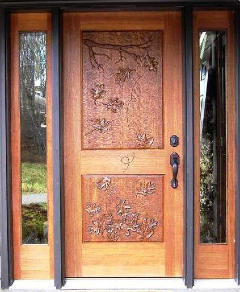 Latest single main door designs for home flat bungalow