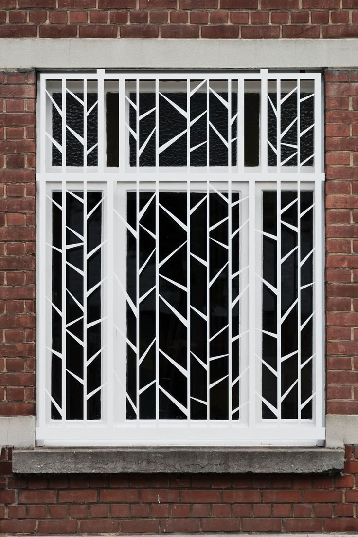 61 Latest Iron Steel Window Grill Design For Modern Indian Homes