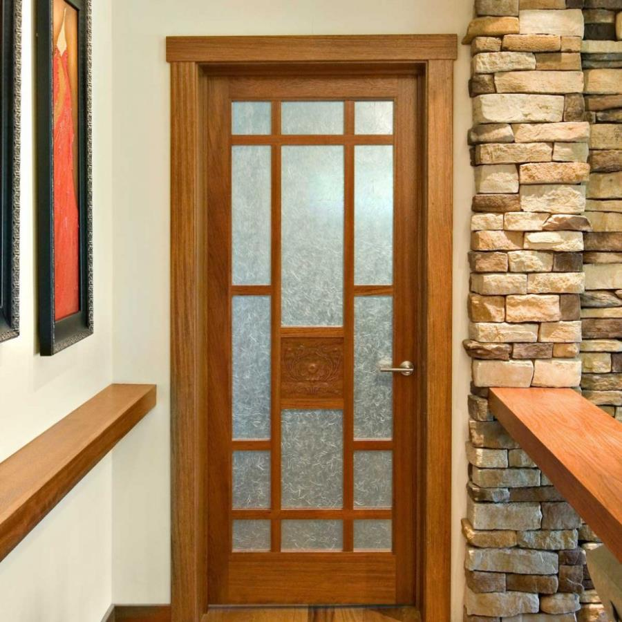 Wood Interior Door With Glass Kitchen Door Designs Photos