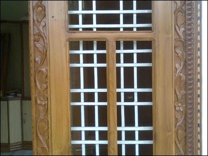 95 Single Amp Double Wooden Door Designs For Indian Homes