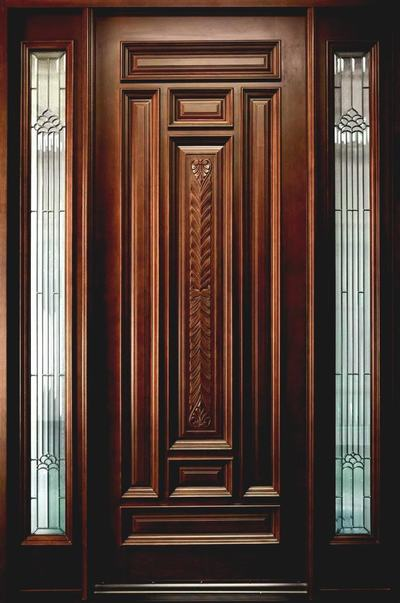 95+ Single & Double Wooden Door Designs for Indian Homes (Images ...