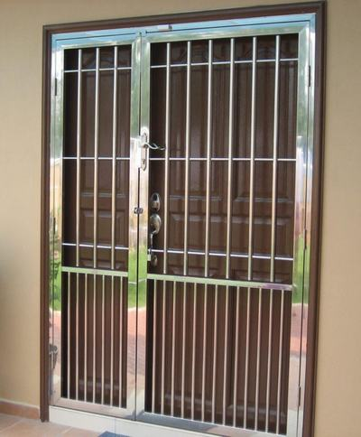 Solutions In Door Grilles And Gate Powder Coated Grill And Gate Safety  Grill Doors Design Safety